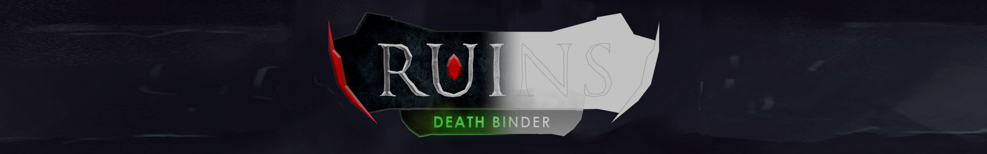Dev log #2 Ruins Death Binder